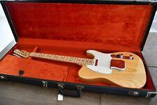 Fender Telecaster 1972 vintage in Natural finish with original case – stunning!