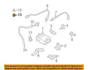 NISSAN OEM 03-09 350Z Engine Parts-Pcv Valve Seal 118126N200
