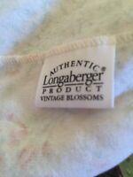 Longaberger Basket Liner - Vintage Blossoms Fits 2001 Mother's Day