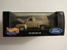 Hot Wheels 1:43 Diecast Metal 1955 Ford Panel Van Joe's Speed Shop Cool Classics