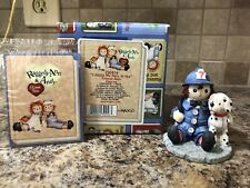 Raggedy Ann & Andy I Found My Hero In You Enesco Figurine Fireman 290874 Retired