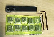 Wendeplattenhalter Schaft  16 mm  mit 10 Platten