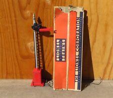 Original Lionel Standard Gauge # 080 Red Automatic Semaphore Signal w/ Box