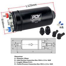 EFI 380LH 1000HP PQY External Fuel Pump E85 Compatible 044 Inline Fuel Pump 12V