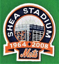 NEW YORK METS 2008 SHEA STADIUM FINAL SEASON AUTHENTIC MLB PATCH
