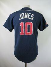 E4609 VTG MAJESTIC Atlanta Braves  Chipper Jones 10 MLB Baseball Jersey