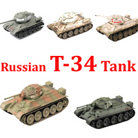 Easy Model Russian T-34 Medium Tank Plastic Model All T34 Tnaks of easy model