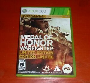 Medal of Honor Warfighter Limited Edition (Microsoft Xbox 360, 2012)-No Manual