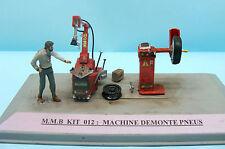 M.M.B 012B / KIT RESINE / MATTHIEU MACHINE DEMONTE PNEUS EQUILIBREUSE 1/43