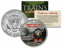 SOUTHERN PACIFIC 4449 STEAM *Famous Trains Series* JFK Half Dollar U.S. Coin