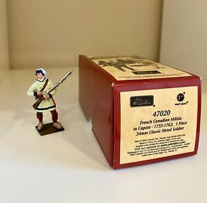 w britain toy soldiers 47020 French Canadian Militia Modified -French Indian War