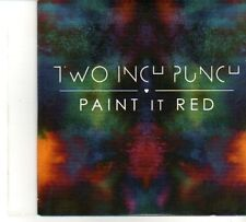 (DP844) Two Inch Punch, Paint It Red - DJ CD
