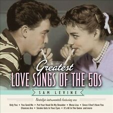 SAM LEVINE (SAX/FLUTE/HORN) - GREATEST LOVE SONGS OF THE 50S NEW CD