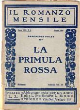 baronessa orcxy-la primula rossa-fascicolo 1931