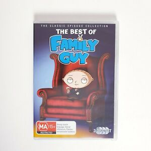 The Best Of Family Guy DVD TV Series Free Post Region 4 AUS - Comedy Animation