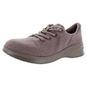 JSport by Jambu Women's Crane Stretch Wool Lace Up Casual Fashion Sneaker Shoes