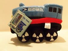 VINTAGE 2003 (MIKE THE MAIL TRAIN) PLUSH U.S. POSTAL SERVICE- PLUS STAMP-RARE