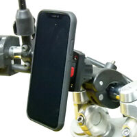 Robust Claw Motorbike Handlebar Mount & TiGRA Fitclic Case for iPhone XS MAX
