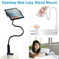 360º Lazy Bed Flexible Arm Mount Stand Holder For Samsung-iPad Android-Tabl I5H7