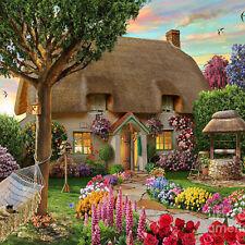 Garden Cottage 5D Diamond DIY Painting Craft Kit Home Decor LS4G