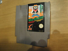 Wild Gunman Nintendo Entertainment System NES Zapper Game French language