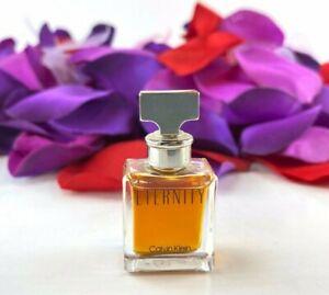 Calvin Klein Eternity For Women Vintage Perfume (.13oz/4ml) Splash Mini *NEW*