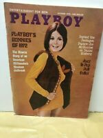 VINTAGE PLAYBOY MAGAZINE OCTOBER 1972 ISSUE