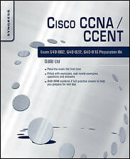 Cisco CCNA/CCENT Exam 640-802, 640-822, 640-816 Preparation Kit, Dale Liu, New B