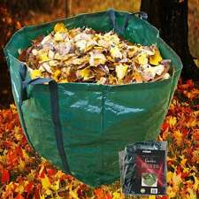 Rolson Large 245L Mould Proof Garden Bag Sack 4 Handle Carry Waste Refuse Leaves