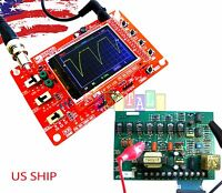 "Fully Assembled DSO138 2.4"" TFT Digital Oscilloscope (1Msps) with One FREE Probe"