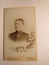 Accident-SOLDIER IN UNIFORM-Portrait-Regiment IR 111/CDV