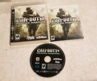Call of Duty 4: Modern Warfare Sony PlayStation 3 PS3 COMPLETE VIDEO GAME