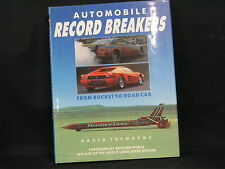 Chardwell Books, Book: Automobile Record Brakers, David Tremayne (English)