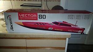 volentex vector 80 bushless rc race boat