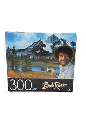 "300 piece Jigsaw puzzle Bob Ross ""MIGHTY MOUNTAIN LAKE"" size 14""x 11"" Cardinal"