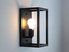 applique lampada da parete vintage classico in acciaio nero ALESSIA DIAMANTLUX