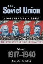 Soviet Union: A Documentary History Volume 1: 1917-1940, Good Condition Book, Ed