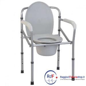 Sedia comoda pieghevole in alluminio, Termigea BA33