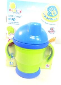 BABY Cup Leak Proof Healthy Eating 6 + months w/ leak poof valve SIPPY CUP []