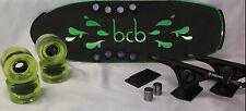 "BEERCAN BOARDS CLEARANCE LONGBOARD COMPLETE BEAR 852's BCB WHEELS 24"" GREENMICRO"