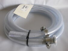 Lesker 10ft Reinforced Clear PVC Tubing with a KF40 Flange on One End