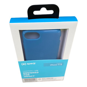 iPhone SE 2020 Case Blue - Speck CandyShell Lite Azure Blue for iPhone 6s/7/8