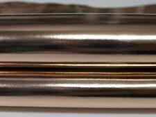 METALLIC ROSE GOLD strong Italian Goatskin leather skin skins 4+sqf 0.6mm #A5645