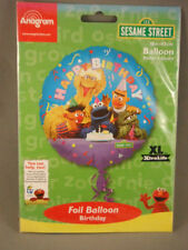 Birthday, Child Sesame Street Party Foil Balloons