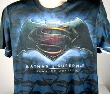 Batman  Superman T-Shirt Large  DC Comics Dawn of Justice Super Hero