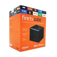 NEW Amazon Fire TV Cube 4K Ultra HD Streaming Media Player - Black