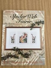 Counted Cross Stitch Chart  - Spider Web Fairie   Jeanette crews Designs 165