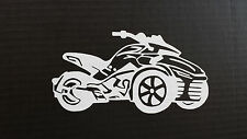CAN-AM SPYDER  F3- WINDOW DECAL / STICKER  - 13 colors