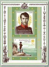 Timbres multicolores figures historiques