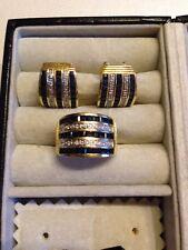Ohrringe Goldohrringe Saphire Diamanten Brillanten 750 Gold 18 Karat